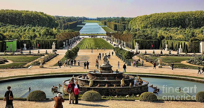 Chuck Kuhn - Versailles Gardens II