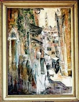 Via Dolerosa Jerusalem by Baruch Neria-Kandel