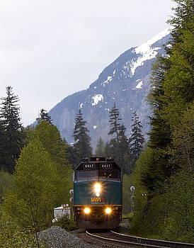 Via Rail Canada by Sylvia Hart