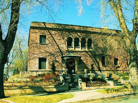 Vicotian Moorish Style Mansion Denver 1800s by Annie Gibbons