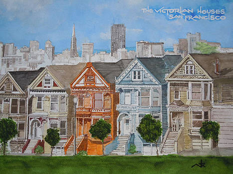 Victorian Houses of S.F. by Art King