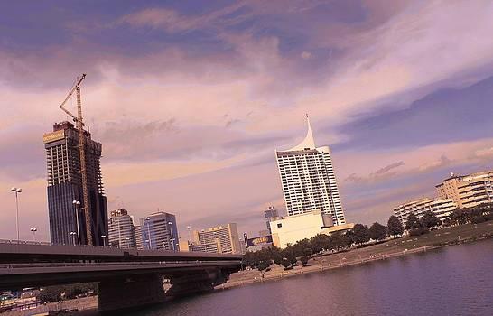 Vienna Skyline by Sonja Bonitto
