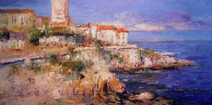 View of Antibes by R W Goetting