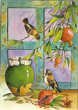 View Of Autumn by Mahshid Zali
