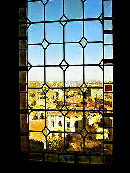 View of Avignon France by Sandra Amberg