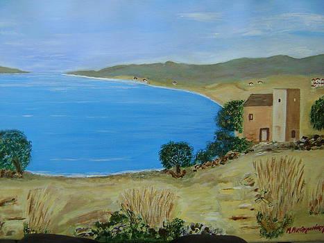 View to lake by Manolia Michalogiannaki