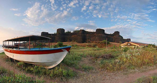 Vijaydurg Fort - Panorama by Sydney Alvares