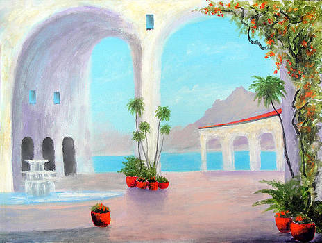 Villa Of  Arches by Larry Cirigliano