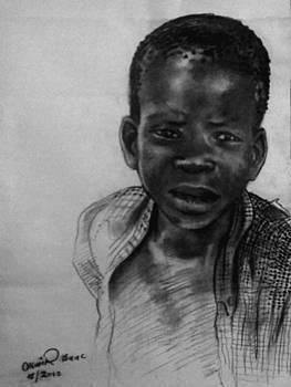 Village boy by Okwir Isaac