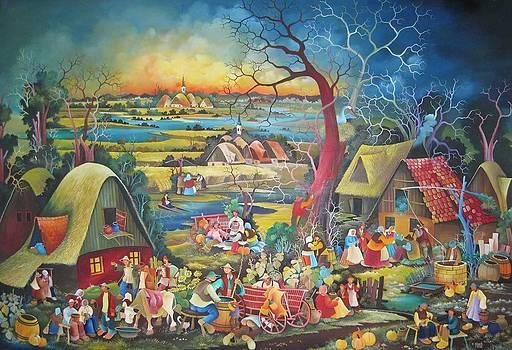 Village by Jan Glozik