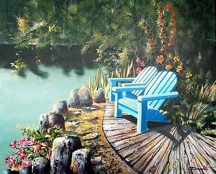 Village Park Whistler BC by Dumitru Barliga