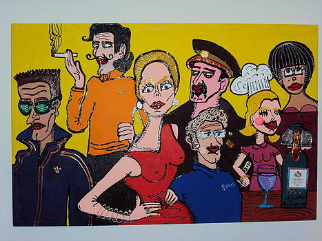Village People's Party by Fernando  Sucre