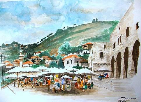 Village street market by Samir Sokhn
