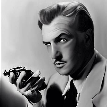 Vincent Price Recreation On Ipad. One by Joshua Pearson