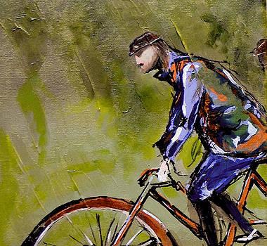 Vintage Biker by Nancy Hilliard Joyce