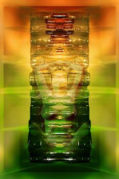 Vintage Bottles by Rich Beer