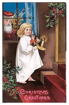unknown - Vintage Christmas Greetings