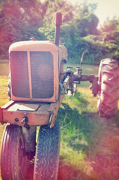 Vintage Farm Tractor by Amy Kephart