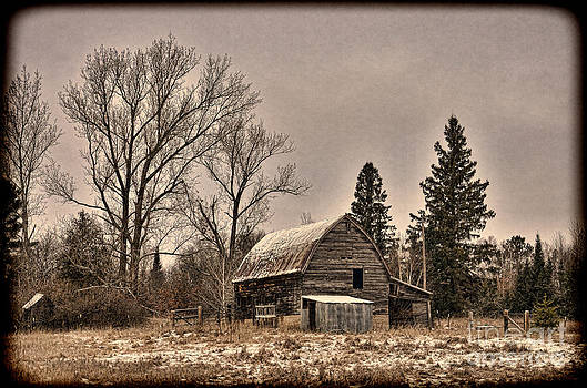 Vintage Farmstead  by Whispering Feather Gallery