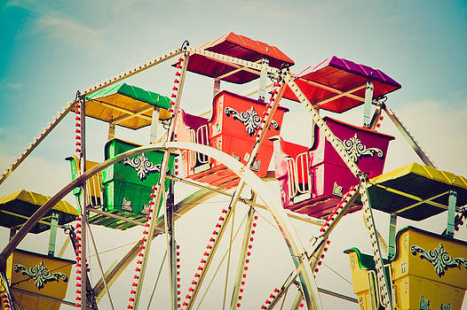 Vintage Ferris Wheel by Eye Shutter To Think