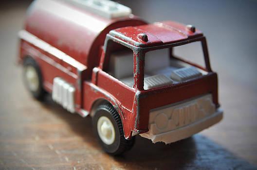 Vintage Fire Truck 1 by Kathy Schumann