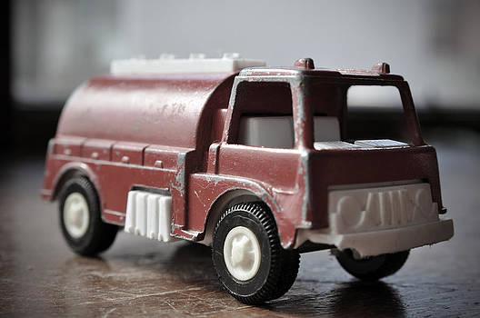 Vintage Fire Truck 2 by Kathy Schumann