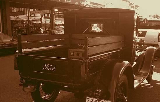 Julie Butterworth - Vintage Ford Truck