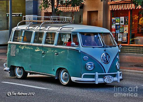Vintage Micro Bus by Tom Andrews
