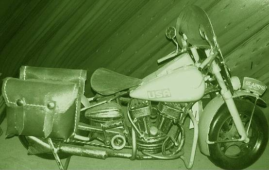Julie Butterworth - Vintage Motorcycle