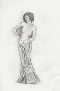 Vintage Nude by Pamela  Corwin