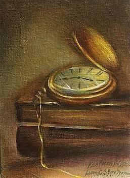 Vintage pocket watch by Khatuna Buzzell