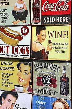 Sophie Vigneault - Vintage Signs