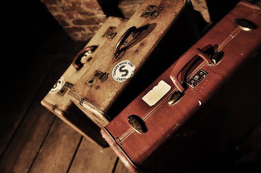 Rebecca Brittain - Vintage Suitcase Print