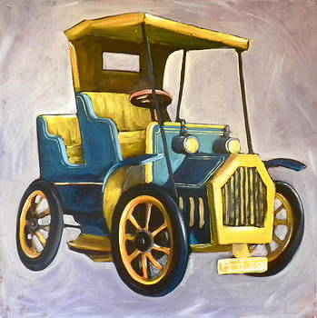 Vintage Toy Car by Paula Strother