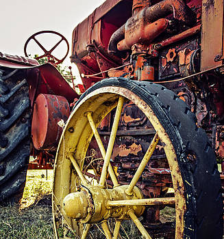 Vintage Tractor by Tiffany Zumbrun