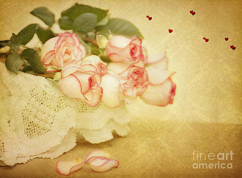 Susan Gary - Vintage Valentine Day Roses