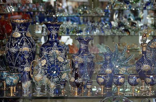 Vintage Venice Glass Window Shopping by Heinz G Mielke