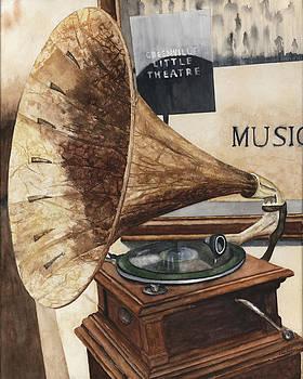 Vintage Victorola by Gary Roderer