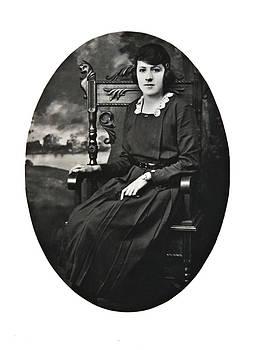 Vintage Woman by Susan Leggett