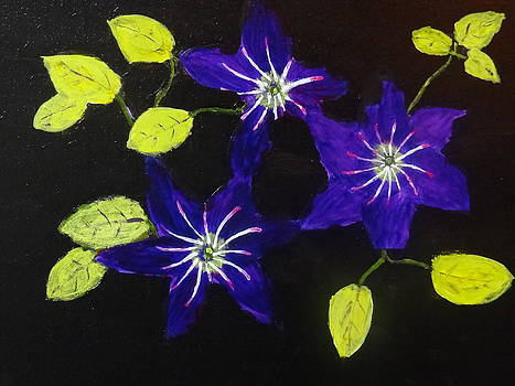 Nancy Fillip - Violet Composition