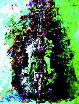 Violin by Artist Singh