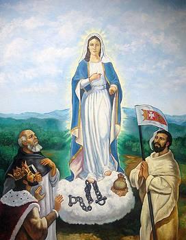 Vision of Mary by Patrick RANKIN