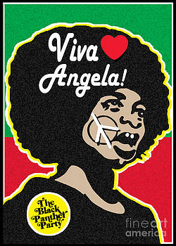 Viva Angela Davis by Stanley Slaughter Jr