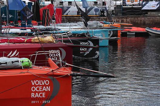Volvo Ocean Race 2011-2012 by Peter Skelton
