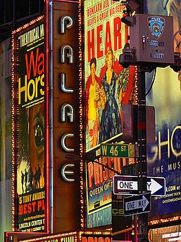 W 46th St. NYC by Mamie Thornbrue