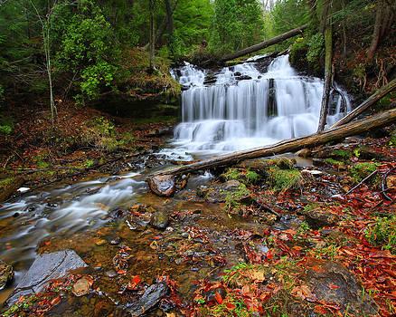 Wagner Falls by Matt Russell