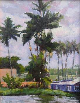 Wailoa River View by Robert Weiss