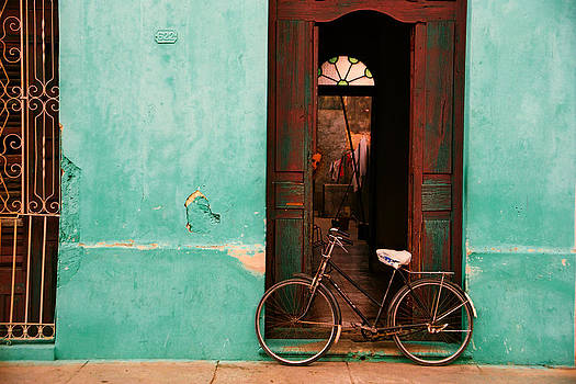 Waiting Bicycle by Claude Taylor