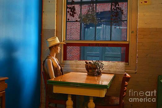 Waiting on Edward Hopper by Bruce Wood
