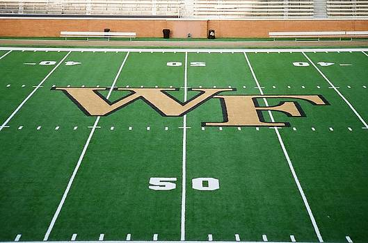 Wake Forest Football Field by Paul Thomley